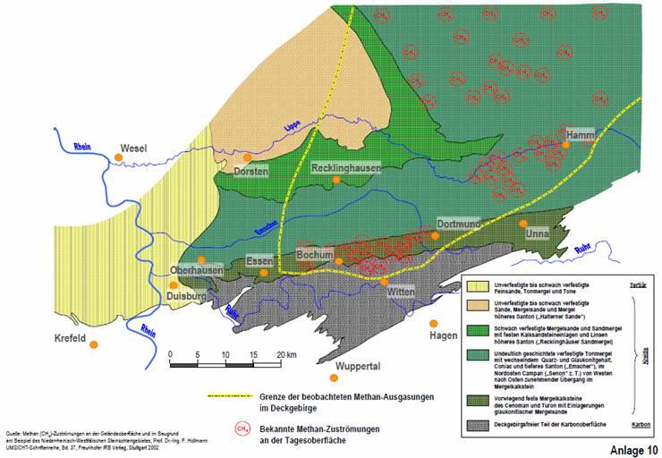 grundwasserspiegel nrw karte